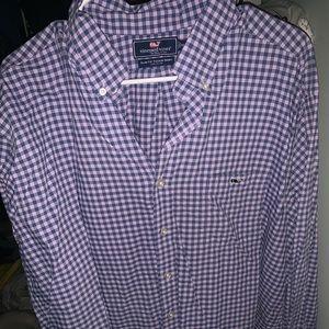 vineyard vines xxl long sleeve shirt men's